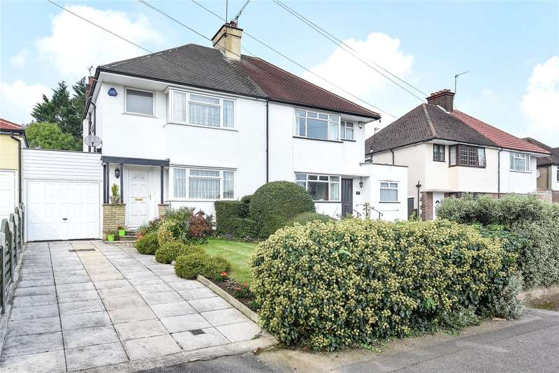 3 Bedrooms Semi Detached House for sale in Potter Street, Northwood, Middlesex, HA6