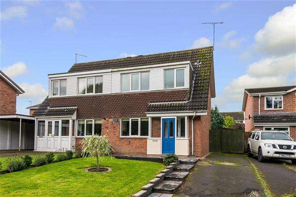 3 Bedrooms Semi Detached House for sale in Saxon Road, Penkridge