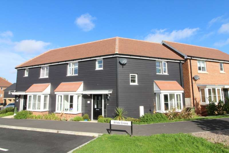3 Bedrooms Semi Detached House for sale in Wilds Cross, Redhouse Park, Milton Keynes
