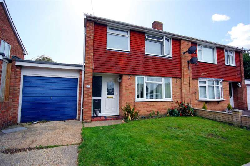 3 Bedrooms Semi Detached House for sale in Oak Road, Great Cornard CO10 0EX