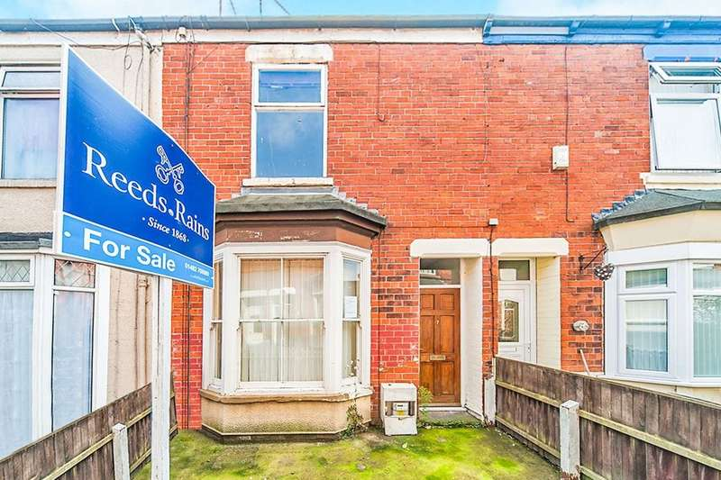 2 Bedrooms Terraced House for sale in Henley Avenue Brazil Street, Hull, HU9