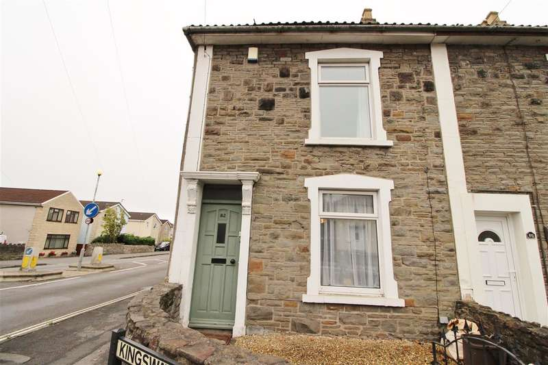 2 Bedrooms End Of Terrace House for sale in Kingsway Avenue, Bristol