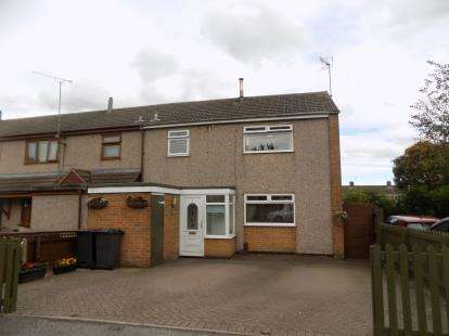 3 Bedrooms End Of Terrace House for sale in Ryhope Close, Bedworth, Nuneaton, Warwickshire