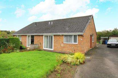2 Bedrooms Bungalow for sale in Caxton Close, New Whittington, Chesterfield, Derbyshire