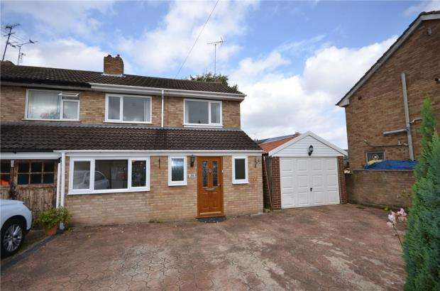 3 Bedrooms End Of Terrace House for sale in Foxley Close, Blackwater, Surrey