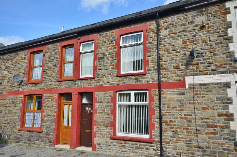 3 Bedrooms Terraced House for sale in Ilan Road, Abertridwr, Caerphilly, CF83