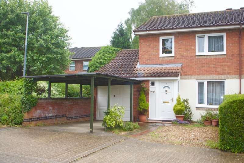 3 Bedrooms Semi Detached House for sale in Becketts Court, Wymondham, Norfolk, NR18