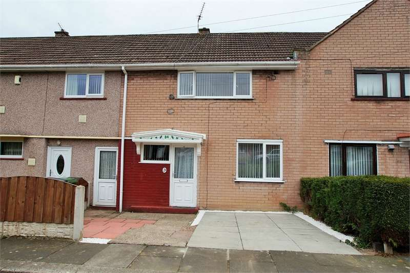 2 Bedrooms Terraced House for sale in CA1 3QU Springfield Road, Harraby, Carlisle, Cumbria