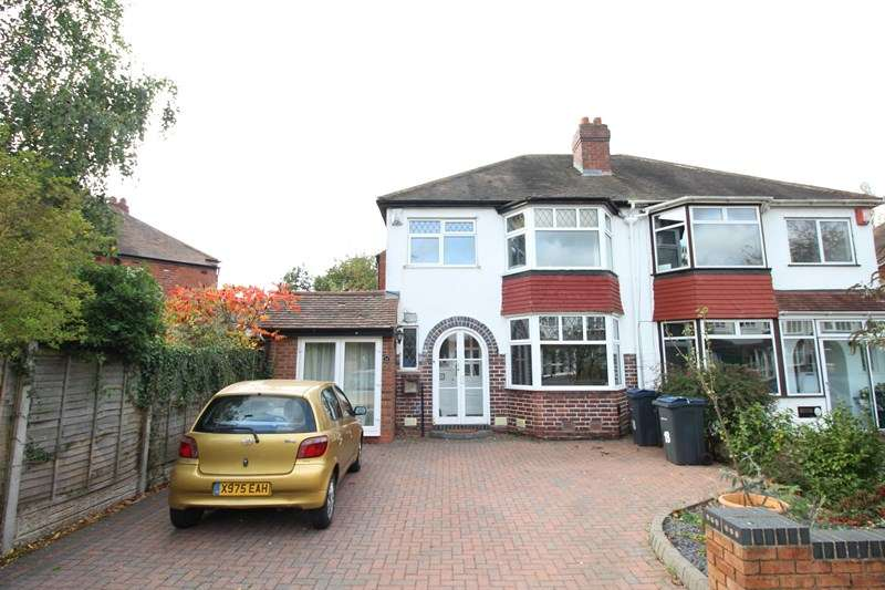 3 Bedrooms Semi Detached House for sale in Painswick Road, Hall Green, Birmingham