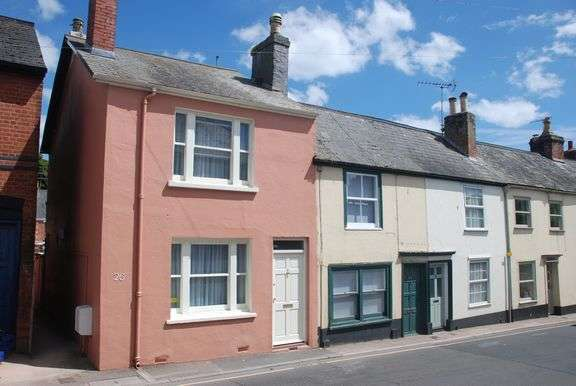 2 Bedrooms End Of Terrace House for sale in Temple Street, Sidmouth