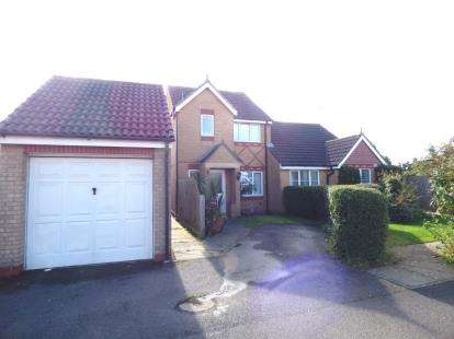 3 Bedrooms Semi Detached House for sale in Portchester Close, Park Farm, Peterborough, Cambridgeshire