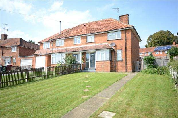 3 Bedrooms Semi Detached House for sale in Lower Henley Road, Caversham, Reading