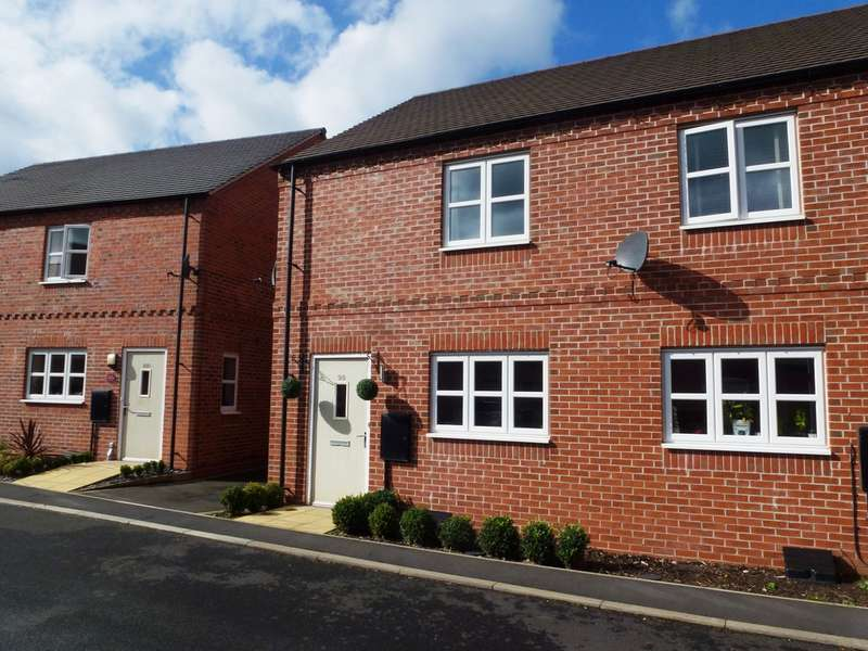 2 Bedrooms Semi Detached House for sale in Spitfire Road, Castle Donington