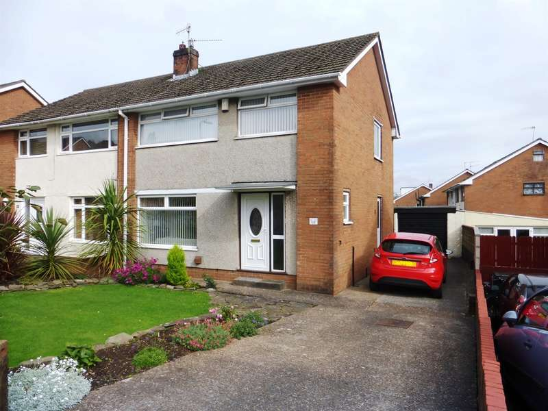 3 Bedrooms Semi Detached House for sale in Menai Way, Rumney, Cardiff
