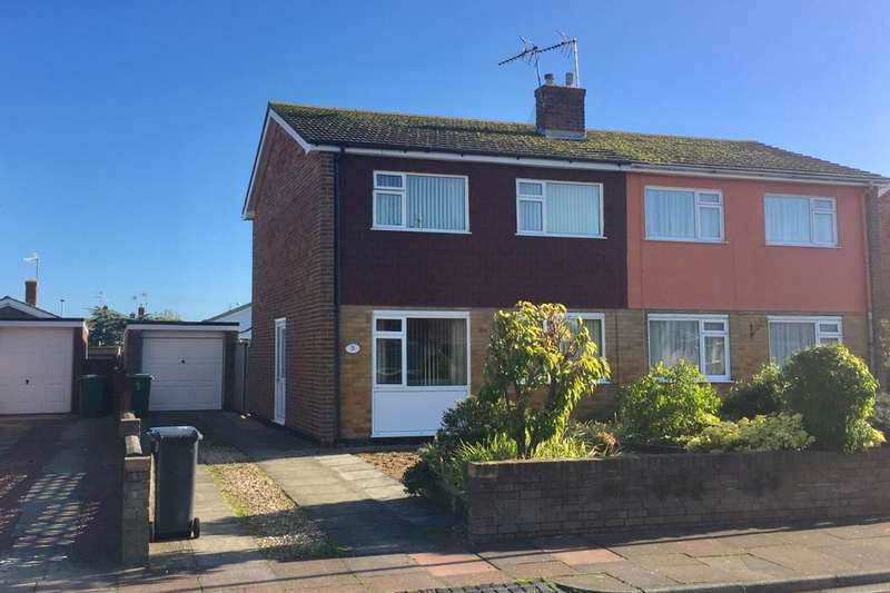 3 Bedrooms Semi Detached House for sale in Fraser Avenue, Eastbourne, BN23