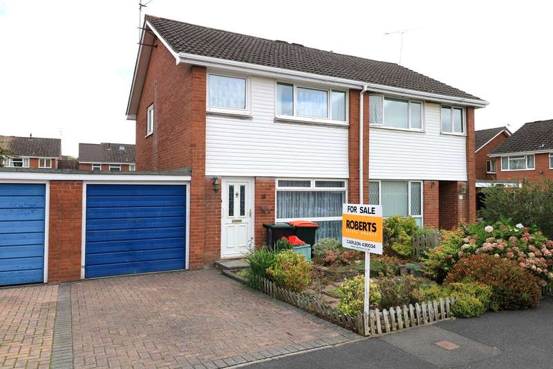 3 Bedrooms Semi Detached House for sale in Redwood Close, Caerleon, Newport, NP18