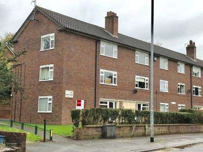 1 Bedroom Flat for sale in Friars Court, Friarswood Road, Newcastle, Staffordshire