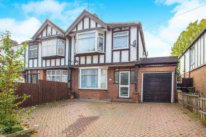 4 Bedrooms Semi Detached House for sale in St. Albans Road, Watford, Hertfordshire, .
