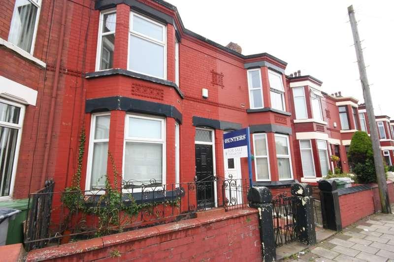 3 Bedrooms Terraced House for sale in Livingstone Street, Birkenhead, CH41 4HQ