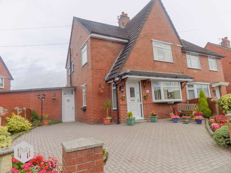 3 Bedrooms Semi Detached House for sale in Fearnhead Avenue, Horwich, Bolton, BL6