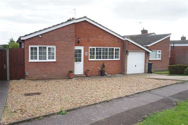 3 Bedrooms Detached Bungalow for sale in Neville Crescent, Bromham