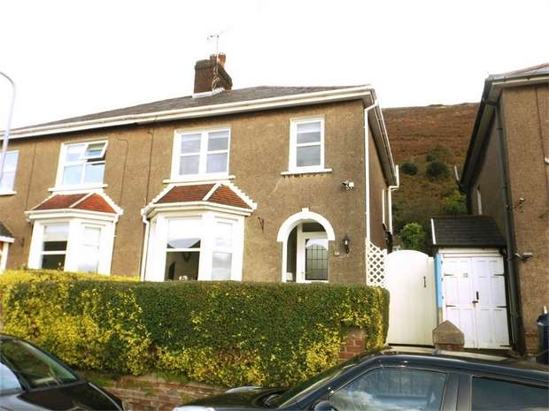 3 Bedrooms Semi Detached House for sale in The Uplands, Pen Y Cae, Port Talbot, West Glamorgan