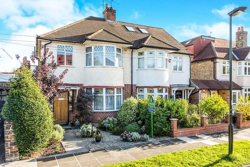 3 Bedrooms Semi Detached House for sale in Derwent Road, Whitton, Twickenham, TW2