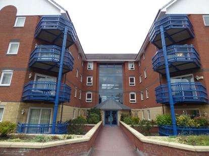 2 Bedrooms Flat for sale in Mountbatten Close, Ashton-On-Ribble, Preston, Lancashire, PR2