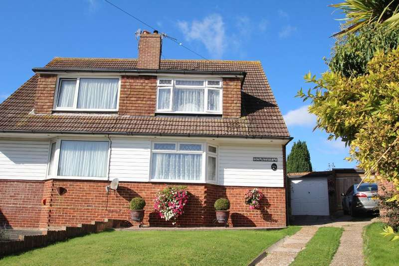 3 Bedrooms Semi Detached House for sale in Gorse Close, Mile Oak, Portslade, East Sussex, BN41 2YX