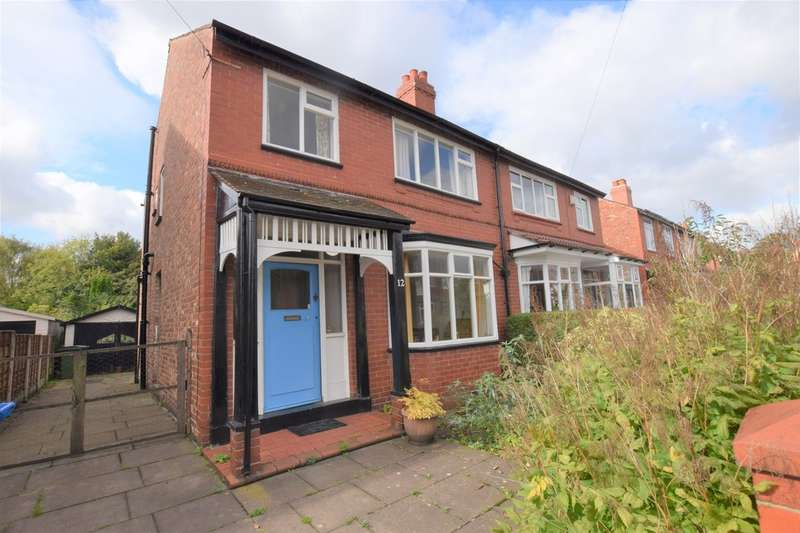 3 Bedrooms Semi Detached House for sale in Warren Avenue, Cheadle