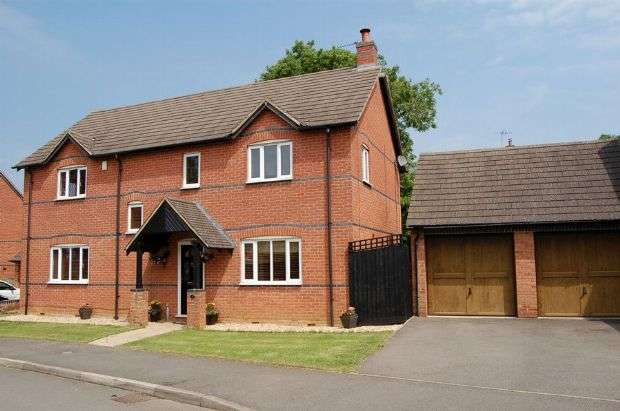 4 Bedrooms Detached House for sale in Bakehouse Rise, Naseby, Northampton NN6 6DQ