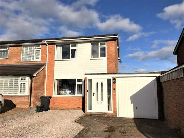 3 Bedrooms Semi Detached House for sale in Exeter Close, Feniton