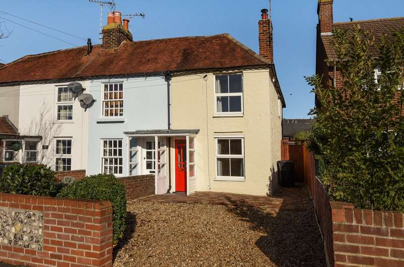 2 Bedrooms End Of Terrace House for sale in Oving Road, Chichester, PO19