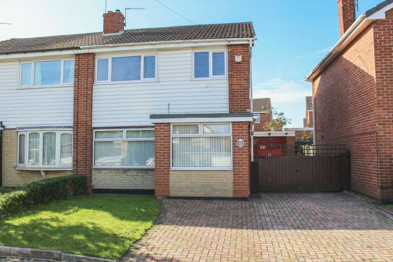 3 Bedrooms Semi Detached House for sale in Cantley Manor Avenue, Cantley, DN4