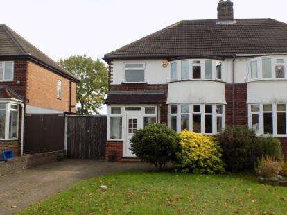 3 Bedrooms Semi Detached House for sale in Kingswood Drive, Sutton Coldfield, West Midlands, .