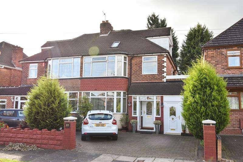 4 Bedrooms Semi Detached House for sale in Willersey Road, Moseley, Birmingham