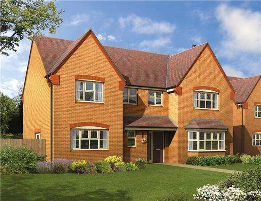 5 Bedrooms Detached House for sale in Plot 46, The Breedon, Pennycress Fields, Stoke Orchard, Cheltenham, GL52 7SJ