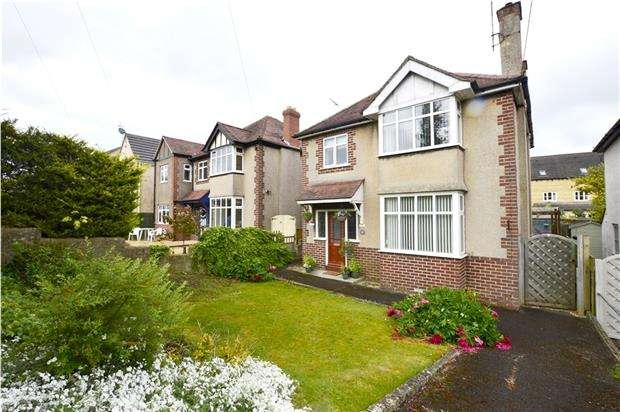3 Bedrooms Detached House for sale in Cashes Green Road, Stroud, Gloucestershire, GL5 4JG
