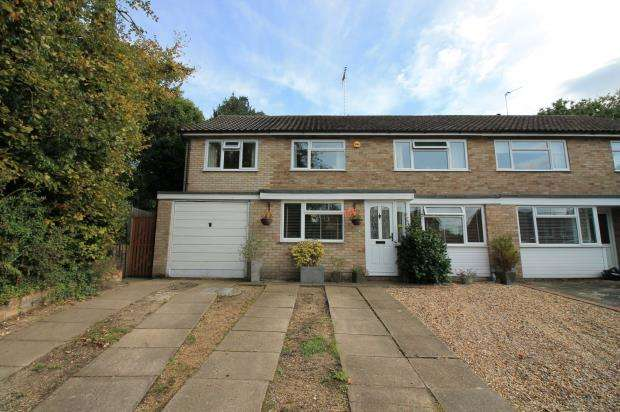 4 Bedrooms Semi Detached House for sale in Frimley Green, Surrey