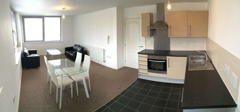 3 Bedrooms Flat for rent in Bispham House, Lace Street (off Great Crosshall Street), Liverpool City Centre, L3