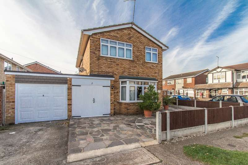 4 Bedrooms Detached House for sale in Jason Close, Canvey Island, SS8