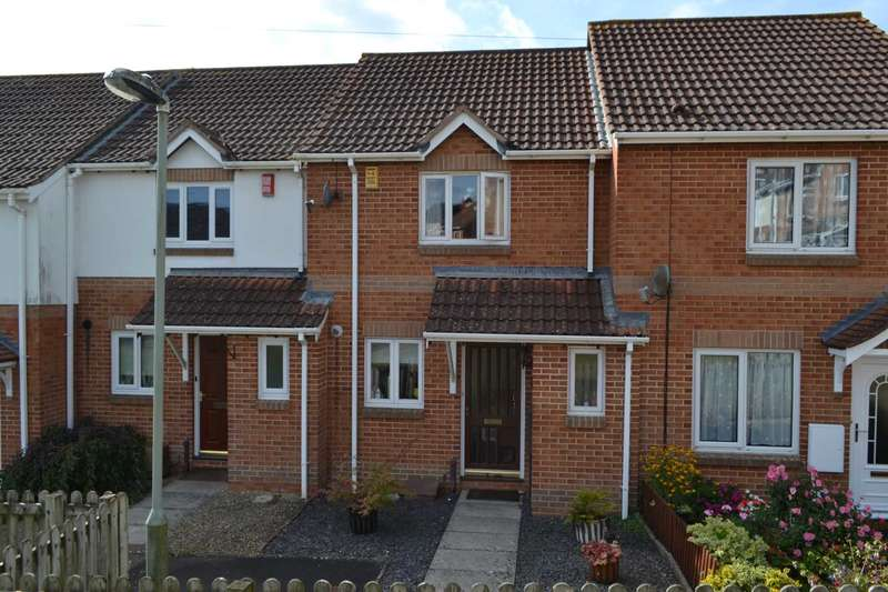 2 Bedrooms Terraced House for sale in Keats Close, Exmouth