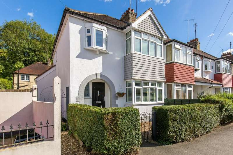 3 Bedrooms End Of Terrace House for sale in Purley Vale, Purley, CR8 2DU
