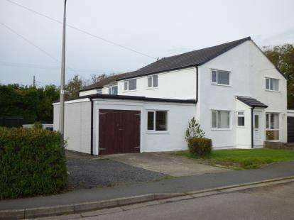 4 Bedrooms Semi Detached House for sale in Lon Lwyd, Pentreath, Anglesey, North Wales, LL75