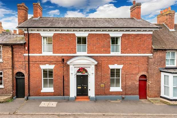 4 Bedrooms Terraced House for sale in Ashleigh House, Chetwynd End, Newport, Shropshire
