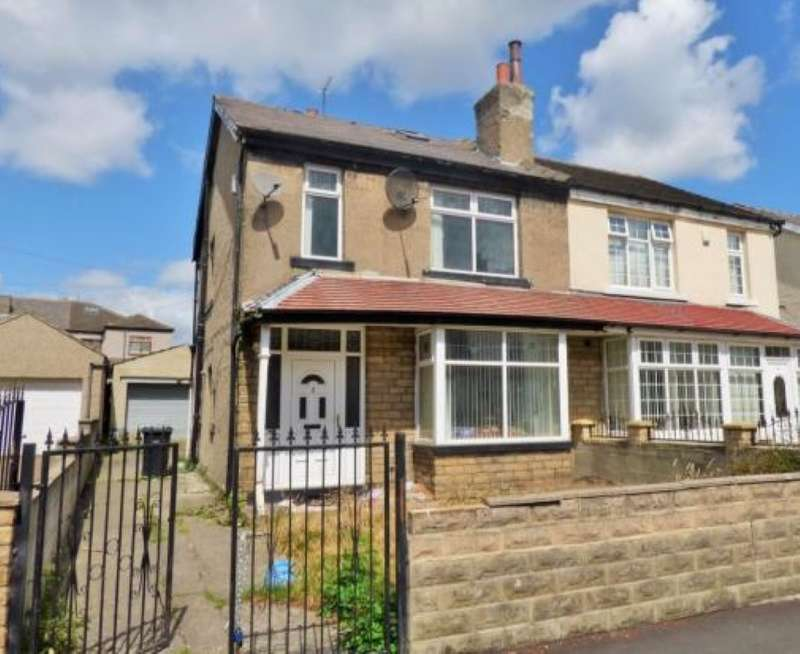 3 Bedrooms Semi Detached House for sale in Grenfell Terrace, Bradford, West Yorkshire, BD3 7EJ