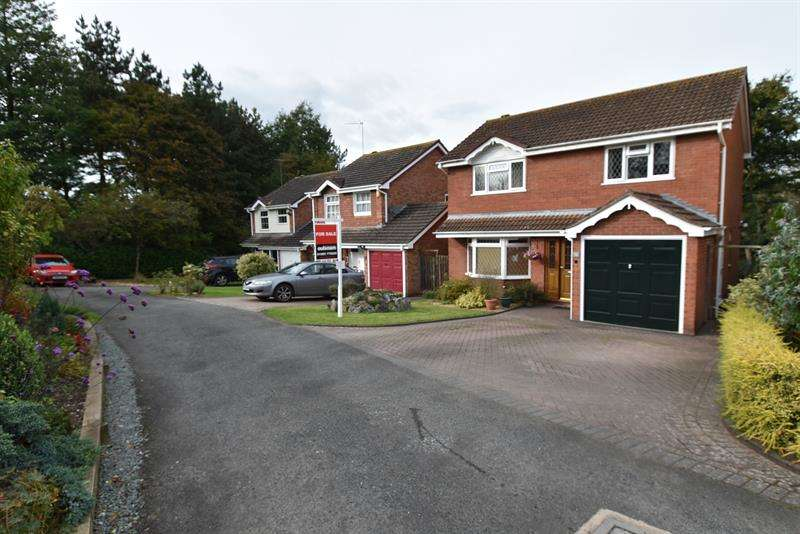 4 Bedrooms Detached House for sale in Lahn Drive, Droitwich