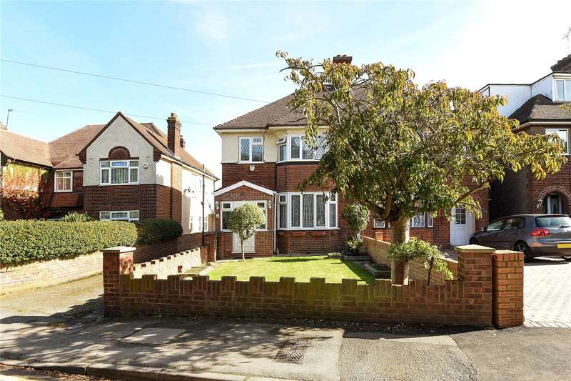 3 Bedrooms Semi Detached House for sale in Pole Hill Road, Hillingdon, Middlesex, UB10
