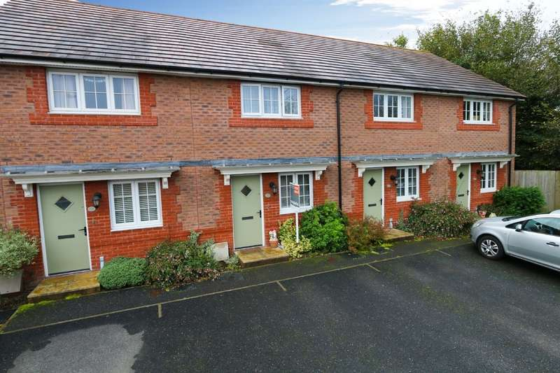 2 Bedrooms Terraced House for sale in Clover Way, Newton Abbot