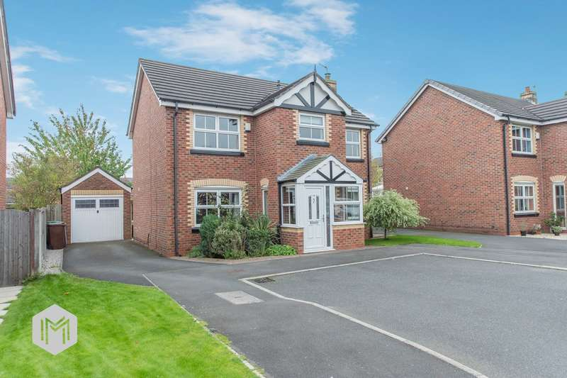 4 Bedrooms Detached House for sale in Walkers Drive, Leigh, WN7
